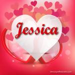 Hermosos corazones con la letra J !!Gratis¡¡
