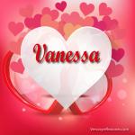 Hermosos corazones con la letra V !!Gratis¡¡