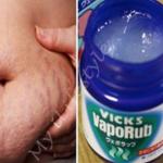 El Vick Vaporub sirve para eliminar grasa, celulitis y estrias