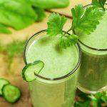 Bebida fresca para combatir la enfermedad y sobrepeso