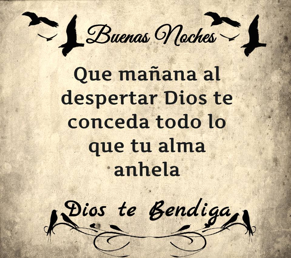 Oracion de buenas noches martes