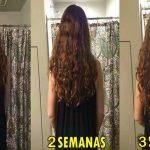 Crecimiento acelerado del cabello con 2 ingredientes naturales