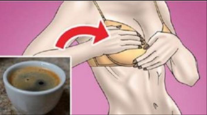Mujer si consumes mucho cafe esto le podría pasar a tus pechos