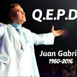 Adiós Juan Gabriel Te recordaremos siempre !