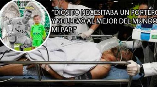 """Desgarrador mensaje del portero brasileño a su esposa e hijo. """"Dios necesitaba un portero y …."""""""