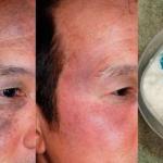 El lavó su cara con esto y su esposa no podía creerlo, pues se veía más joven que ella