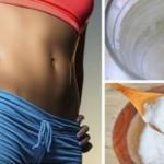 elimina la grasa del vientre, muslos, brazos y espalda usando el bicarbonato de sodio de esta manera