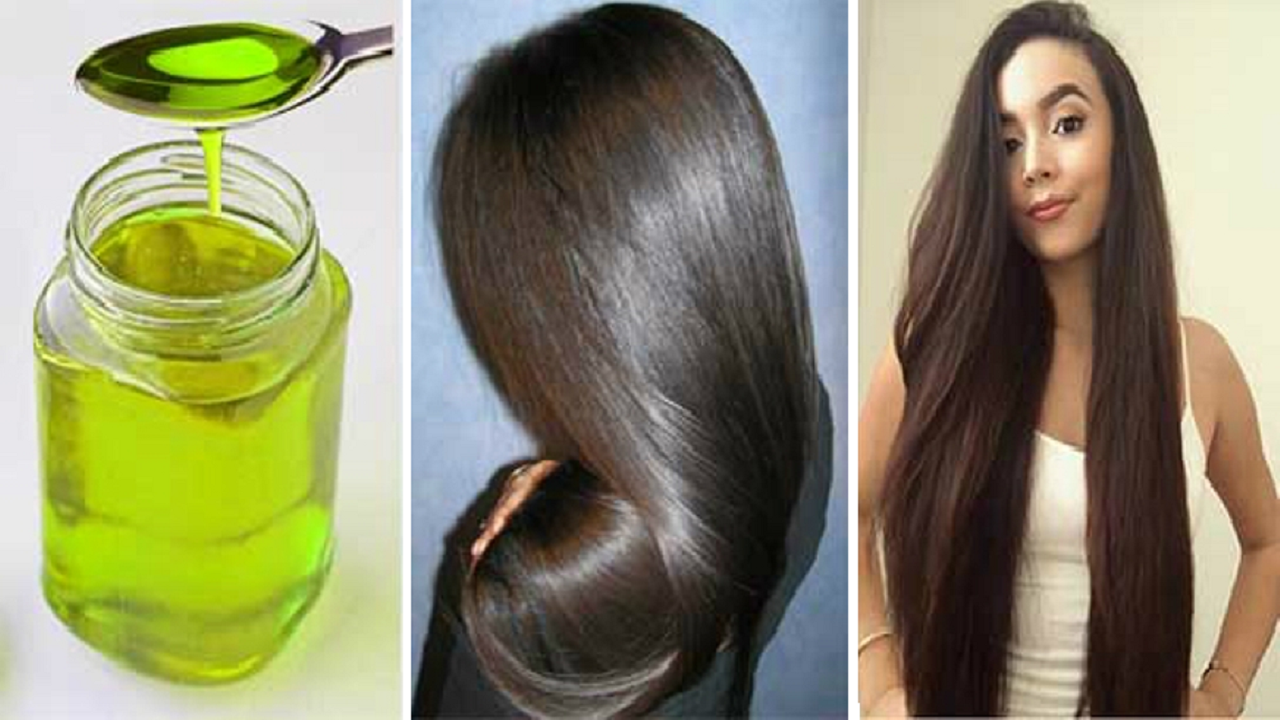 Este aceite detendrá la caída de tu cabello y hará que crezcan cabellos largos y gruesos en 10 días