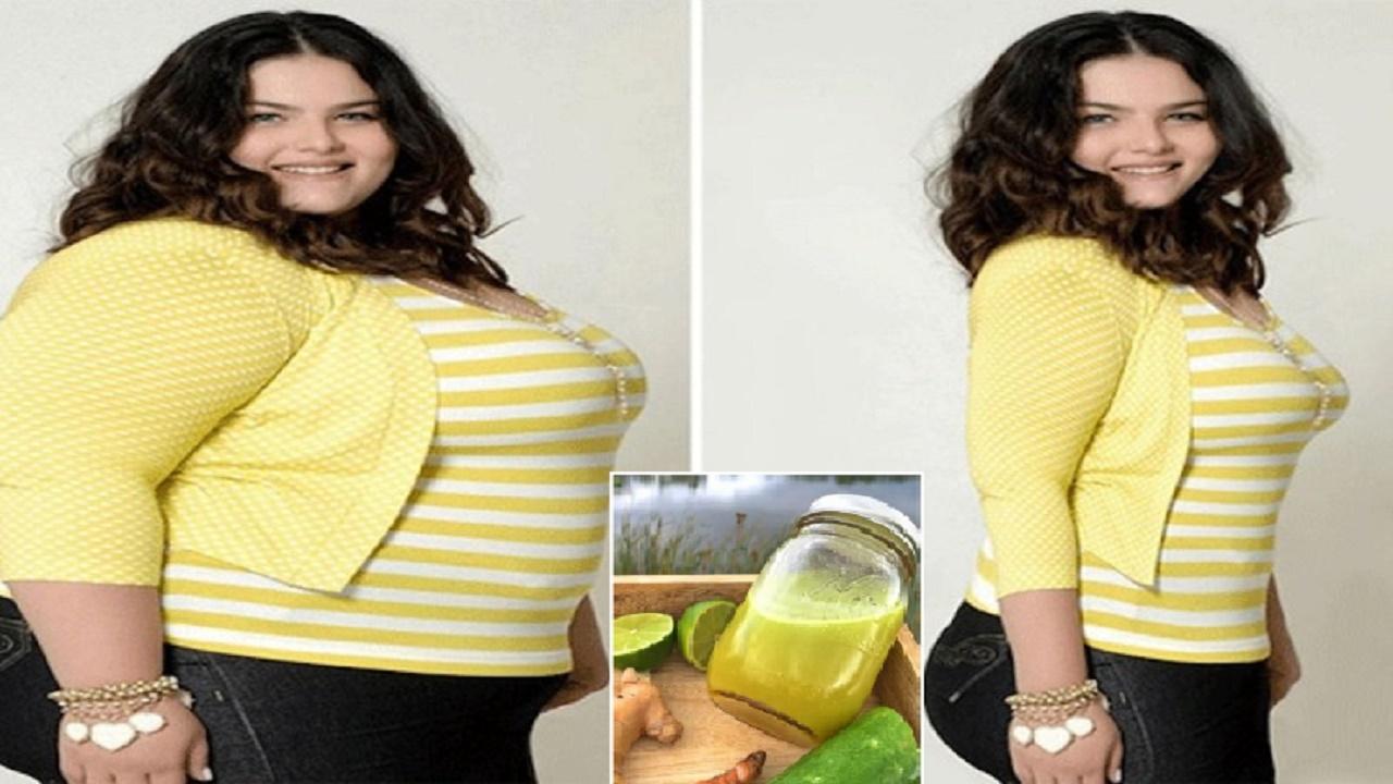 Ella deseaba perder peso y logró resultados mejores a los que esperaba con ayuda de esta bebida