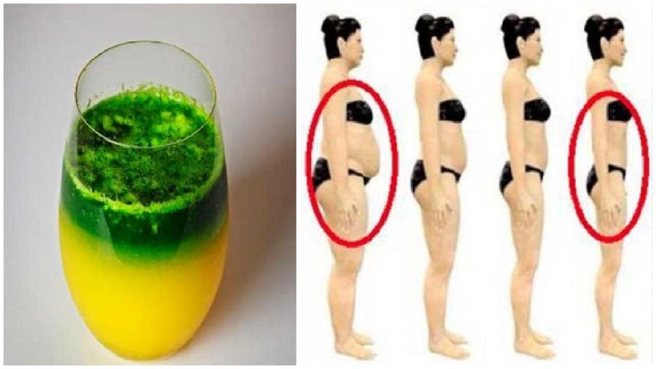 Consume esto durante 6 dias en ayunas y eliminarás la grasa de tu vientre