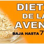 Baja hasta 7 kilos en una semana con la dieta de la avena