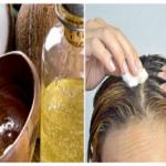 Detén la caída del cabello, elimina las canas y recupera el color natural de tu cabello con esto