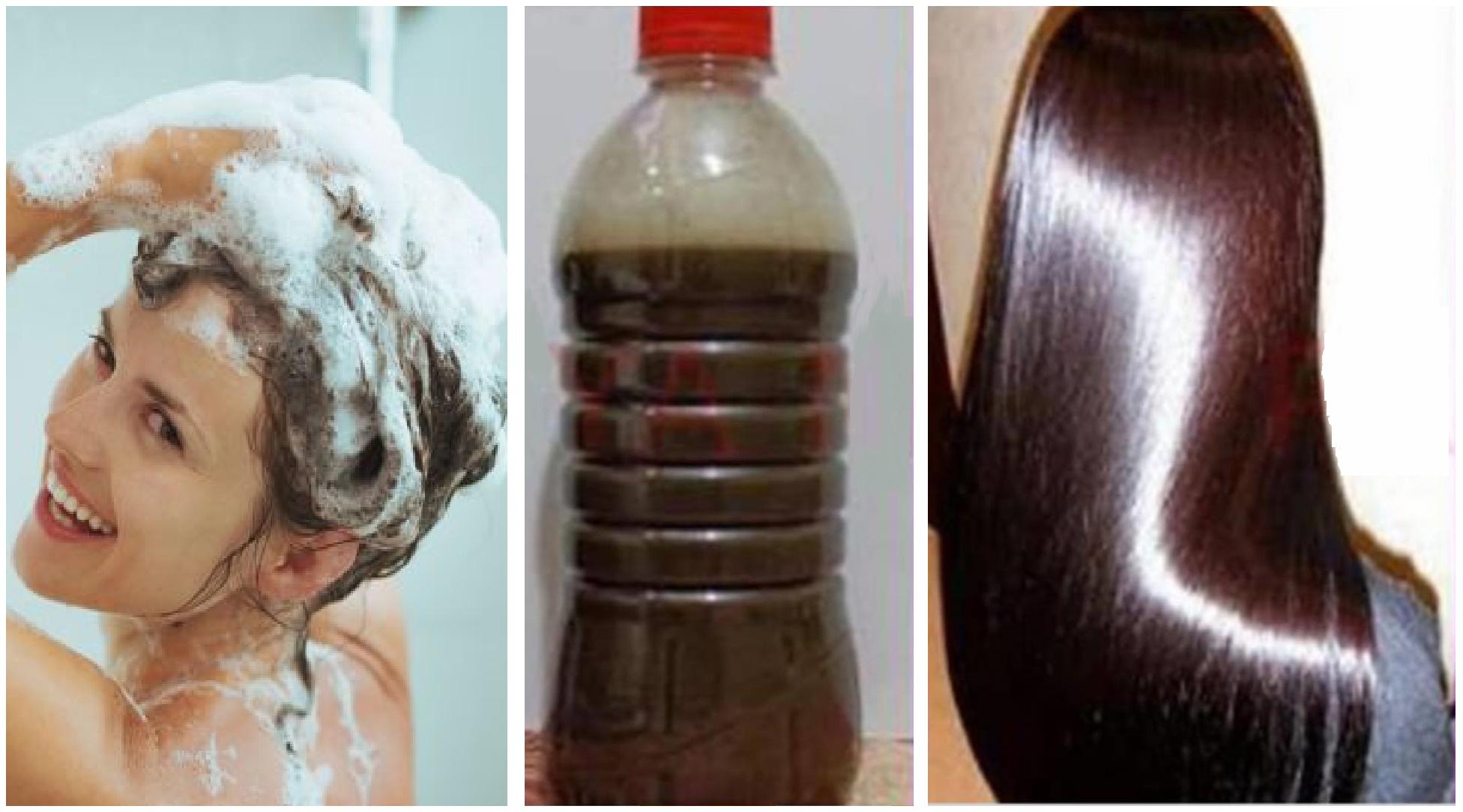 Lava tu cabello con esto y lucirá brillante, hermoso y más largo que nunca antes
