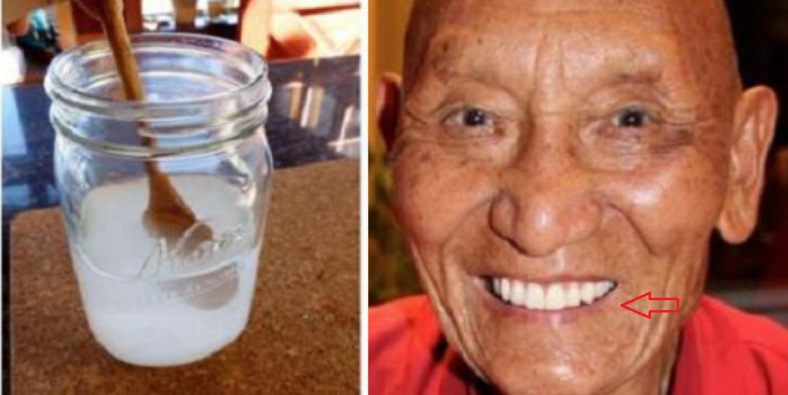 Dientes blancos, sanos y fuertes con la receta de este monje tibetano