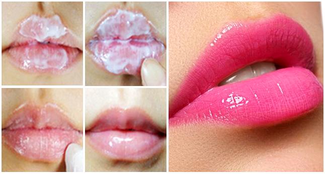 Luego de usar esto ya no tendrás que usar labial, pues tus labios se verán hermosos naturalmente