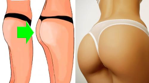 Podrás lucir un trasero más grande en 1 semana, siguiendo estos consejos