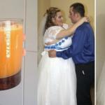 En su boda lucía obesa, pero bebiendo esto a diario, eliminó todo ese exceso de peso