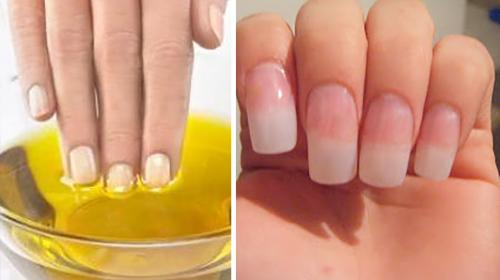 Mi amiga me enseño este truco y mis uñas crecieron como nunca antes