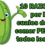 10 razones por las que deberías comer pepino todos los días 😱 😱