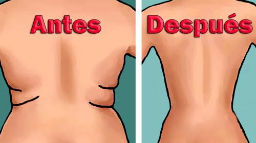 4 Ejercicios sencillos para eliminar los rollitos y bajar de peso en 10 minutos al día