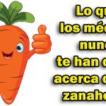 Lo que los médicos nunca te han dicho acerca de las zanahorias 😱 😱