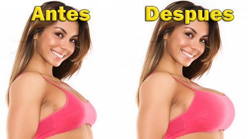 Esta mujer aumentó el tamaño de sus senos con ayuda de esta receta