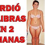 Esta mujer perdió 22 libras en 2 semanas con esta interesante dieta
