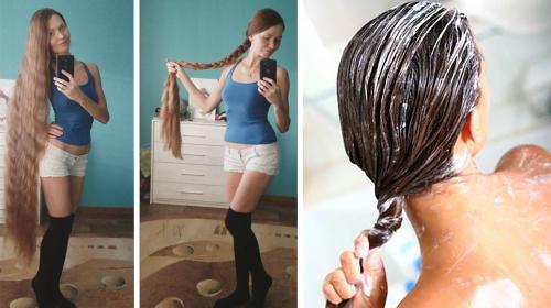 Se hizo este tratamiento casero y su cabello creció mucho