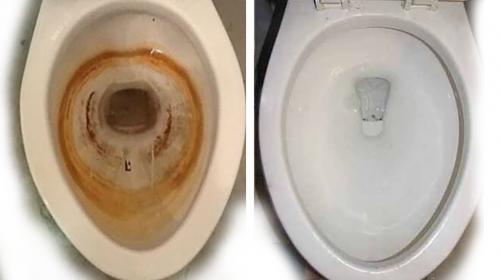 Tus baños quedarán como nuevos cuando los laves con...
