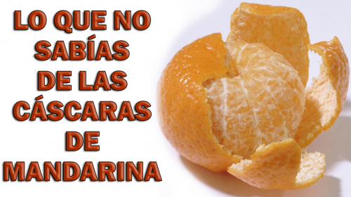 Lo que no sabías de las cáscaras de mandarina