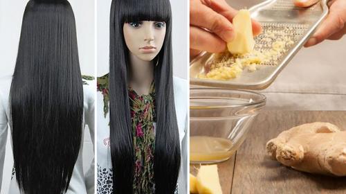Si deseas lucir un cabello largo, descubre como el jengibre te ayuda a lograrlo