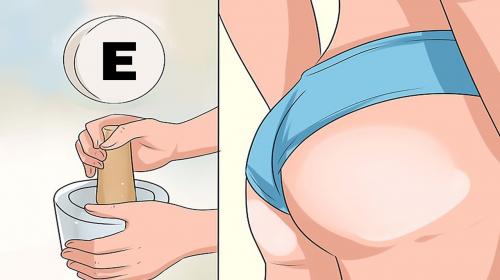 Aprende a aumentar y tonificar tus glúteos con vitamina E