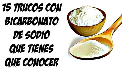 15 TRUCOS CON BICARBONATO DE SODIO QUE TODA MUJER TIENE QUE CONOCER