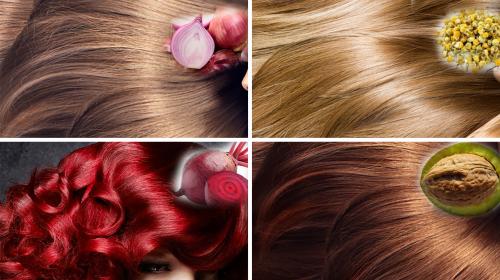 Tiñe tu cabello al color que deseas con ayuda de estos tintes naturales libres de químicos