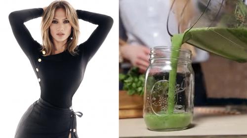 Jennifer Lopez perdió 10 kilos gracias a este batido