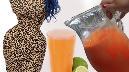 Bajarás 10 kilos en 15 días consumiendo esta bebida cada noche