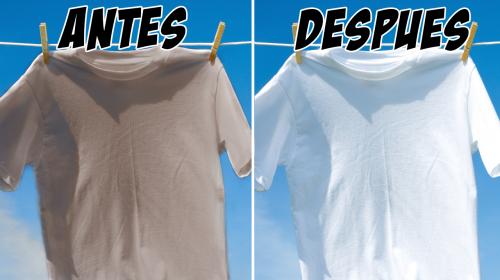Blanquea tu ropa percudida de manera rápida aplicando esto a tu ropa