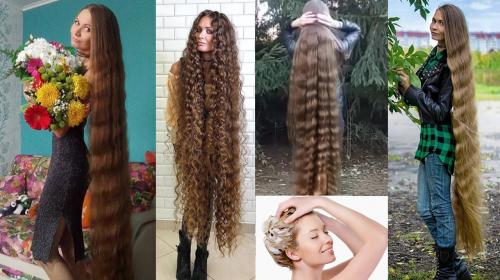 Ella causa furor en las redes por su inmenso cabello gracias a que lo lavó con esto