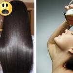 Mezclo cerveza con plátano, lo aplicó en su cabello y quedó de maravilla