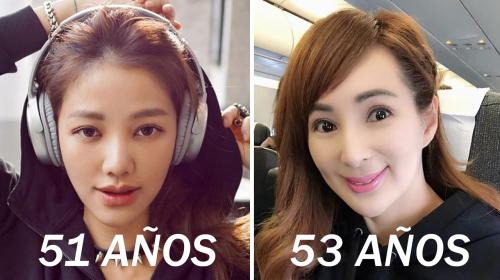 Ellas tienen más de 50 años, pero lucen como de 30 porque se lavan el rostro con esto