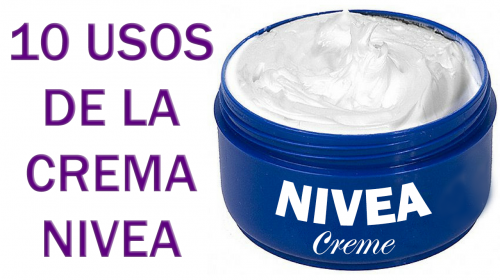 10 usos de la crema nívea que muy pocos conocen