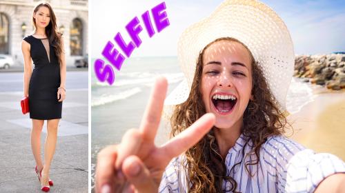 Tips para que luzcas explendida en las selfies; saldrás hermosa en cada selfie