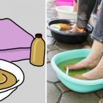 Lava tus pies con vinagre de manzana y cosas extraordinarias sucederán en tu cuerpo