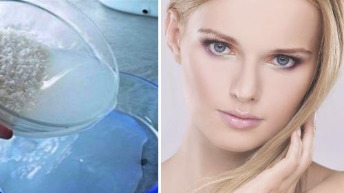 Lava tu cara con este líquido para que rejuvenezca y se eliminen todas las imperfecciones
