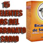 15 Usos del bicarbonato de sodio que te facilitarán la vida!