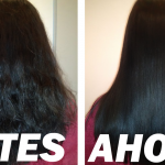El pelo de mi tía era un caos, pero quedó completamente liso en 2 semanas