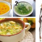 3 Deliciosas sopas que ayudan a adelgazar