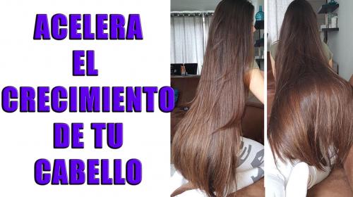 Acelera de manera natural el crecimiento de tu cabello