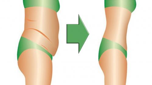 En 4 semanas la grasa de tu vientre y espalda desaparecerá con esta receta