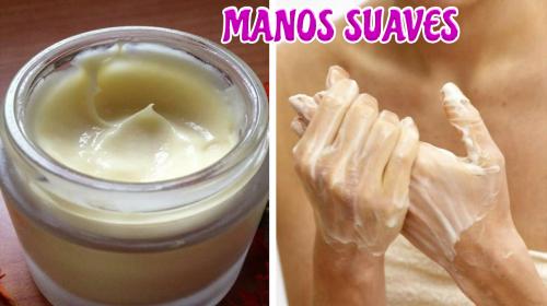 Con esta crema tus manos quedarán tan suaves como la piel de un bebé